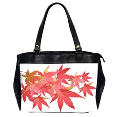 Leaves Maple Branch Autumn Fall Office Handbags (2 Sides)  by Sapixe
