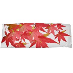 Leaves Maple Branch Autumn Fall Body Pillow Case (dakimakura) by Sapixe