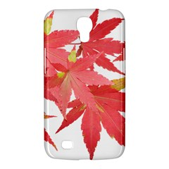 Leaves Maple Branch Autumn Fall Samsung Galaxy Mega 6 3  I9200 Hardshell Case