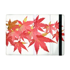 Leaves Maple Branch Autumn Fall Ipad Mini 2 Flip Cases by Sapixe