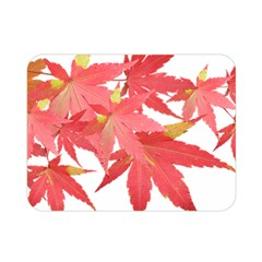Leaves Maple Branch Autumn Fall Double Sided Flano Blanket (mini)  by Sapixe