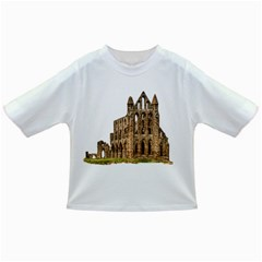Ruin Monastery Abbey Gothic Whitby Infant/toddler T Shirts