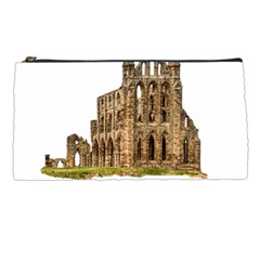 Ruin Monastery Abbey Gothic Whitby Pencil Cases by Sapixe