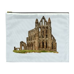 Ruin Monastery Abbey Gothic Whitby Cosmetic Bag (xl) by Sapixe