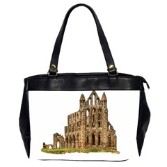 Ruin Monastery Abbey Gothic Whitby Office Handbags (2 Sides)  by Sapixe
