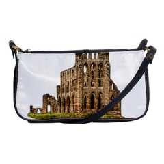Ruin Monastery Abbey Gothic Whitby Shoulder Clutch Bags by Sapixe