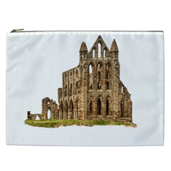 Ruin Monastery Abbey Gothic Whitby Cosmetic Bag (xxl)  by Sapixe