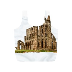 Ruin Monastery Abbey Gothic Whitby Full Print Recycle Bags (s)  by Sapixe