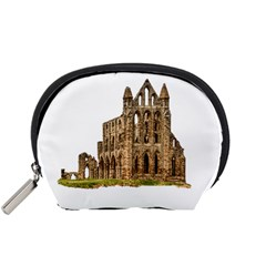 Ruin Monastery Abbey Gothic Whitby Accessory Pouches (small)  by Sapixe
