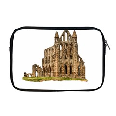 Ruin Monastery Abbey Gothic Whitby Apple Macbook Pro 17  Zipper Case by Sapixe