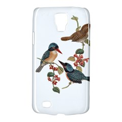 Bird Birds Branch Flowers Vintage Galaxy S4 Active by Sapixe