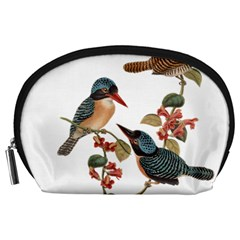 Bird Birds Branch Flowers Vintage Accessory Pouches (large)  by Sapixe