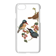 Bird Birds Branch Flowers Vintage Apple Iphone 8 Seamless Case (white) by Sapixe