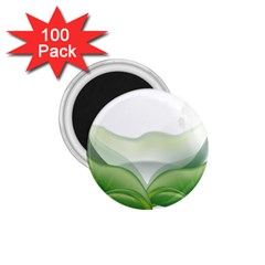 Pearl Drop Flower Plant 1 75  Magnets (100 Pack)