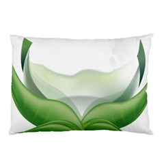 Pearl Drop Flower Plant Pillow Case