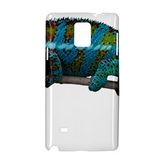 Reptile Lizard Animal Isolated Samsung Galaxy Note 4 Hardshell Case by Sapixe