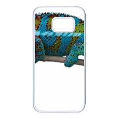 Reptile Lizard Animal Isolated Samsung Galaxy S7 White Seamless Case