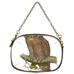 Bird Owl Animal Vintage Isolated Chain Purses (two Sides)