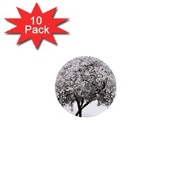 Nature Tree Blossom Bloom Cherry 1  Mini Buttons (10 Pack)