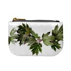 Leaves Plant Branch Nature Foliage Mini Coin Purses by Sapixe