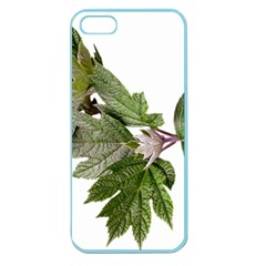 Leaves Plant Branch Nature Foliage Apple Seamless Iphone 5 Case (color) by Sapixe