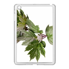 Leaves Plant Branch Nature Foliage Apple Ipad Mini Case (white) by Sapixe