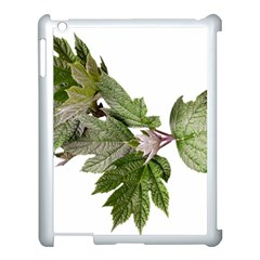 Leaves Plant Branch Nature Foliage Apple Ipad 3/4 Case (white) by Sapixe