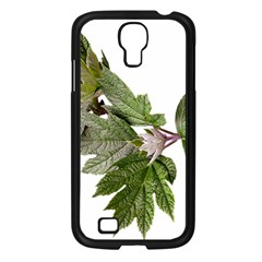Leaves Plant Branch Nature Foliage Samsung Galaxy S4 I9500/ I9505 Case (black) by Sapixe