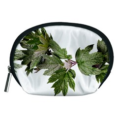 Leaves Plant Branch Nature Foliage Accessory Pouches (medium)  by Sapixe