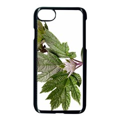 Leaves Plant Branch Nature Foliage Apple Iphone 8 Seamless Case (black) by Sapixe