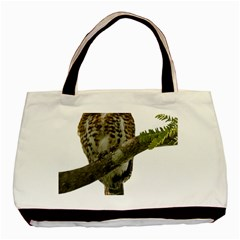 Owl Bird Basic Tote Bag