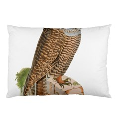 Bird Owl Animal Vintage Isolated Pillow Case (two Sides) by Sapixe