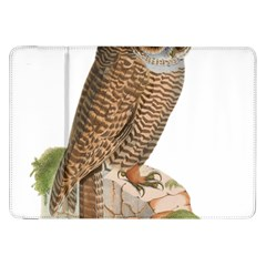 Bird Owl Animal Vintage Isolated Samsung Galaxy Tab 8 9  P7300 Flip Case by Sapixe