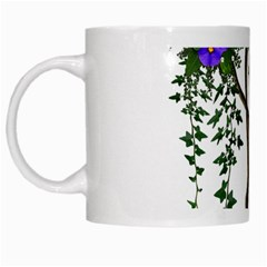 Image Cropped Tree With Flowers Tree White Mugs
