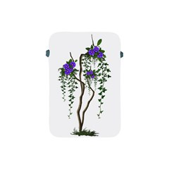 Image Cropped Tree With Flowers Tree Apple Ipad Mini Protective Soft Cases by Sapixe
