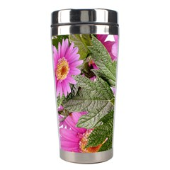 Daisies Flowers Arrangement Summer Stainless Steel Travel Tumblers by Sapixe
