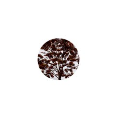 Tree Vector Ornament Color 1  Mini Buttons