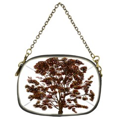 Tree Vector Ornament Color Chain Purses (two Sides)  by Sapixe
