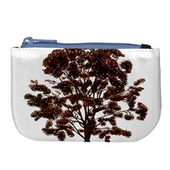 Tree Vector Ornament Color Large Coin Purse