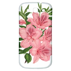 Flower Plant Blossom Bloom Vintage Samsung Galaxy S3 S Iii Classic Hardshell Back Case by Sapixe