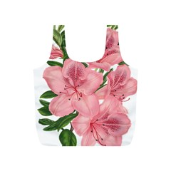 Flower Plant Blossom Bloom Vintage Full Print Recycle Bags (s)  by Sapixe
