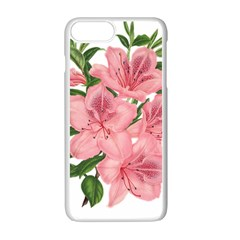 Flower Plant Blossom Bloom Vintage Apple Iphone 7 Plus Seamless Case (white) by Sapixe