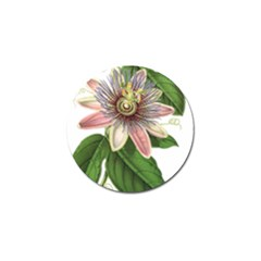 Passion Flower Flower Plant Blossom Golf Ball Marker (4 Pack) by Sapixe