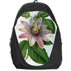 Passion Flower Flower Plant Blossom Backpack Bag by Sapixe