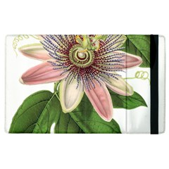 Passion Flower Flower Plant Blossom Apple Ipad 2 Flip Case by Sapixe
