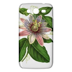 Passion Flower Flower Plant Blossom Samsung Galaxy Mega 5 8 I9152 Hardshell Case  by Sapixe