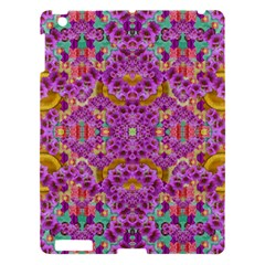 Fantasy Flower Festoon Garland Of Calm Apple Ipad 3/4 Hardshell Case by pepitasart