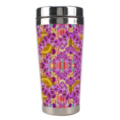 Fantasy Flower Festoon Garland Of Calm Stainless Steel Travel Tumblers by pepitasart