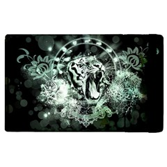 Awesome Tiger In Green And Black Apple Ipad 3/4 Flip Case
