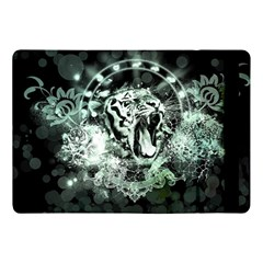Awesome Tiger In Green And Black Apple Ipad Pro 10 5   Flip Case by FantasyWorld7
